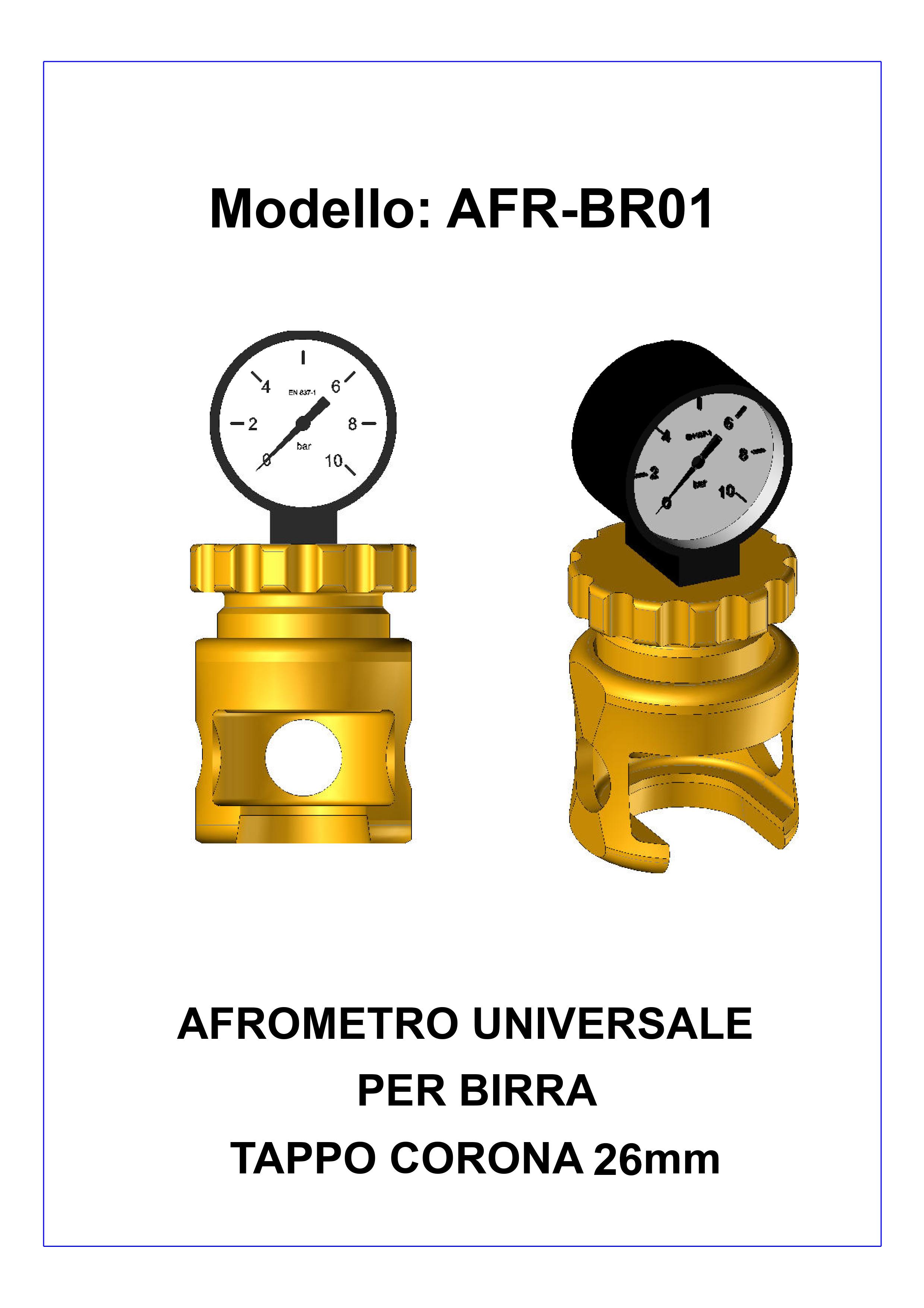 aphrometre dimensions